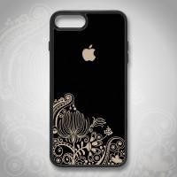 iPhone 4 5 6 6S 7 8 Plus Custom Softcase Casing Case Mandala BA 013