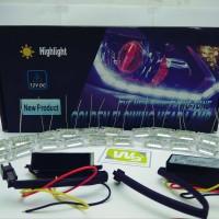 Jual LAMPU LED DRL BAR GLOWING 60Cm DUA MODE (SEIN) LUMINOS Murah