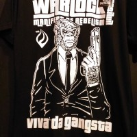 Kaos Warlock Tshirt DIstro