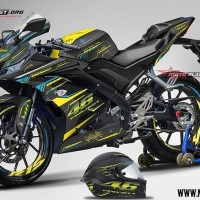 Decal stiker R15 V3 VR46 PROJECT