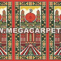 Sajadah Roll / Karpet Masjid / Karpet Mushola [Masjid Merah]