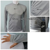 Jual  Baselayer Thumbhole Nike Abu KODE FD12475 Murah