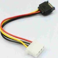 Kabel 15 Pin SATA Male to 4 Pin Molex Female IDE converter konektor