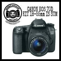 KAMERA DSLR CANON EOS 70D 70 D KIT 18-55mm IS STM - WIFI