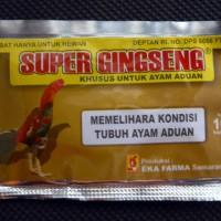 Super Gingseng isi 10 Kapsul