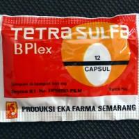 Tetra Sulfa B Plex Isi 12 capsul