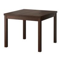 GO SEND  IKEA BJURSTA Meja Makan yang dapat dipanjangkan, cokelat
