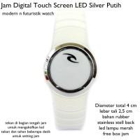 Jual  jam tangan digital touch screen led silv KODE TR1169 Murah