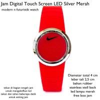 Jual  jam tangan digital touch screen led silv KODE TR1167 Murah