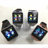 JAM TANGAN HP SMARTWATCH U9 / DZ09 - SIM GSM KAMERA MEMORY CARD HITAM