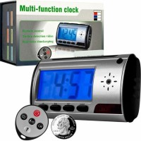 TERLARIS - Spycam / Spy cam / Spy camera Alarm Clock Digital Bagus