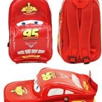 Jual pakaian aksesoris anak Tas Ransel Sekolah Anak TK Cars On The Road 3D Murah