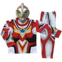 Jual pakaian aksesoris anak Baju Anak Kostum Topeng Superhero Ultraman Go Murah