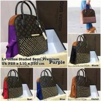 Jual LV Office Studded bag / hand bag / tas wanita murah / tas kerja Murah