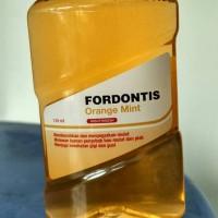 Fordontis Mouthwash Original dan Orange Mint