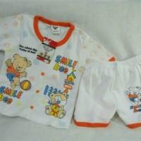 Stelan baju kaos Baju+Celana Anak 1-2thn