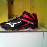 Sepatu volley mizuno WAVE LIGHTNING Z3 MID - BLACK RED 13e7299b20