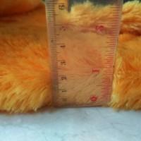 Jual karpet bulu rasfur orange/kuning pooh Murah