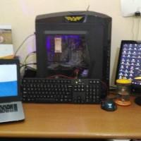 PC Gaming AMD Phenom II x4 VGA AMD Radeon RX 460