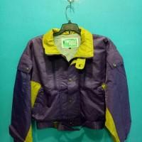 jaket parasut tebal import jaket gunung jaket outdor ungu murah
