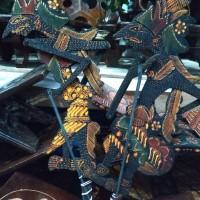 Wayang Batik Sepasang Rama Shinta - Pajangan hiasan rumah - Souvenir