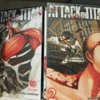 Jual Attack on Titan biasa vol 1-20 segel Murah