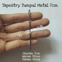 [AR0106] Tapestry Tumpul 7cm Metal