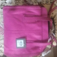 emma satchel hot pink