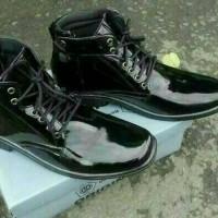 Sepatu PDH Mengkilap Termurah di Online | Satpam Polisi TNI Security