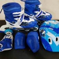 Jual sepatu roda inline set bajaj sepatu roda anak murah skuter mainan anak Murah