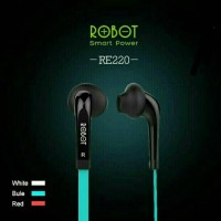ORIGINAL EARPHONE FOR IPHONE SAMSUNG XIAOMI ASUS OPPO LG - ROBOT RE220