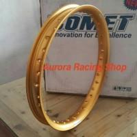 harga Velg - Rim Comet U Shape 17 X 160 Warna Gold Tokopedia.com