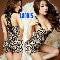 Jual lingerie sexy - babydolls leopard L80015 Murah
