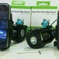 Holder HP Iphone Xiaomi Touch Bike Stang Sepeda Mirip STONIC Murah