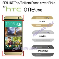 Genuine Top/bottom Front Cover Plate For Htc One M8