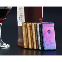 Jual Korek Elektrik Aluminium USB Cigarette Lighter Electric Baru Murah