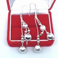 Jual Anting Tassel Jurai Panjang Lapis Perak 925 Sterling Silver - BE053 Murah