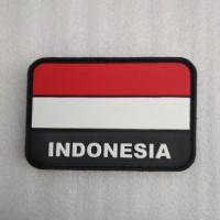 Jual rubber patch rubber bendera indonesia Murah