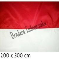 Jual bendera indonesia ukuran 200cm x 300cm Murah
