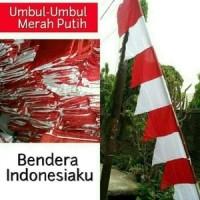 Jual bendera umbul umbul merah putih Murah