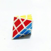 mainan rubic Rubik QJ Octahedron Cube puzzle rubix original