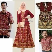 harga Baju Seragam Keluarga Couple Batik Family Sarimbit Kebaya Pesta Srf2 Tokopedia.com