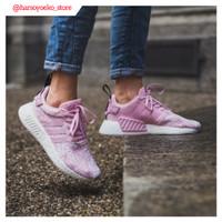 Sepatu Adidas NMD R2 Mesh Wonder Pink Premium Quality