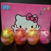Mainan Anak Telor Hello Kitty/Hello Kitty Egg/Surprise Egg ( Terbaru