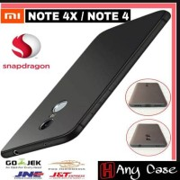 Jual Case Xiaomi Redmi Note 4X l 4 X Versi Resmi Snapdragon SoftCase Matte Murah