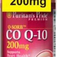 Jual Coenzyme Q-SORB Co Q-10 200 mg|60 SG Puritan's Koenzim Co-enzyme CoQ  Murah