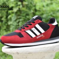 Sepatu Adidas ZX 1000 Grade Ori / Merah Hitam / sport casual pria LSS1