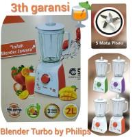 Blender Plastik Turbo By Philips