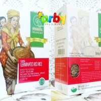 Jual PROMO  GASOL BERAS ORGANIC (WHITE RICE / GERMINATED RED RICE)-1BOX Murah