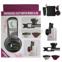 Jual terlaris Lensa SUPERWIDE jepit universal clip 0 4X model U004 Murah